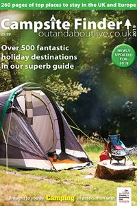 The 2019 digital edition of Campsite Finder is available to buy now